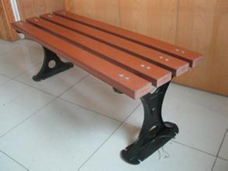 户外塑木休闲椅  广场座椅