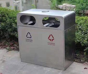钢板垃圾桶系列